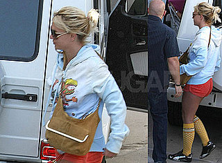 Photos of Britney Spears Heading to Dance Practice in LA