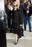 Photos of Madonna at The Late Show