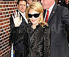 Slide Photo of Madonna Walking In to David Letterman in NYC