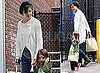 Photos of Katie Holmes And Suri Cruise Out in Boston