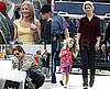 Photos of Tom Cruise And Cameron Diaz Filming Wichita in Boston; Katie Holmes And Suri Cruise Out For a Walk