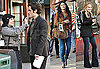 Photos of The Cast of Gossip Girl on Set in NYC