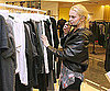 Slide Photo of Lindsay Lohan Shopping in Paris