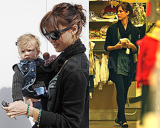 Photos of Jessica Alba and Honor Shopping in LA