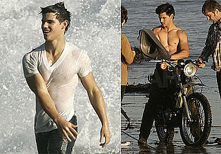 Photos of Taylor Lautner Shirtless and Showing Off His Abs For Rolling Stone Photo Shoot