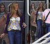 Photos of Jennifer Aniston on Baster Set