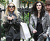 Slide Photo of Lindsay Lohan and Ali Lohan Walking in Paris