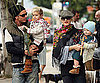 Slide Photo of Gwen Stefani and Gavin Rossdale With Kingston and Zuma at Breakfast