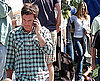 Photos of Jennifer Aniston, Jason Bateman Filming The Baster in LA