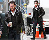 Photos of Shia LaBeouf on the Wall Street 2 Set in NYC 2009-10-09 08:36:53