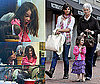 Photos of Katie Holmes and Suri Cruise at Quincy Market in Boston