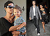 Photos of Halle Berry, Gabriel Aubry and Nahla Aubry in LA