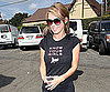 Slide Photo of Audrina Patridge Wearing Breast Cancer Shirt