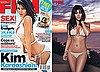 Kim Kardashian Bikini Photos in FHM South Africa November 2009