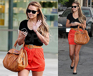 Photos of Lauren Conrad Shopping in LA, Talking About Who Will Star in LA Candy