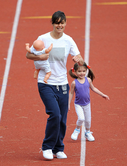 Photos of Cameron Diaz and Tom Cruise on Set, Katie and Suri
