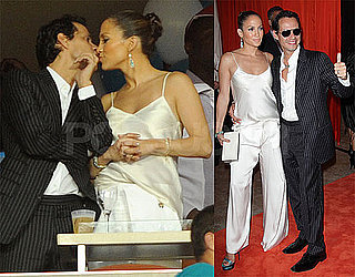 Photos of Jennifer Lopez and Marc Anthony at the Miami Dolphins Game
