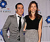 Slide Photo of Jessica Biel and Pete Wentz Together at Press Conference