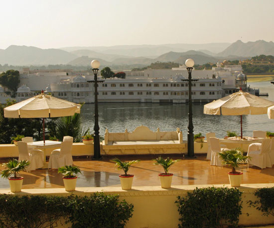 View From Udaipur City Palace Hotel