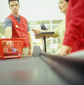 Stores See More Shoppers Ditching Goods at Checkout