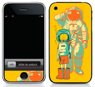 Infectious iPhone Skins