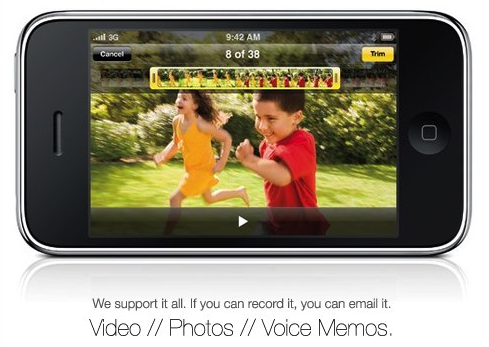 Daily Tech: Posterous Posts iPhone 3GS Videos to Social Sites
