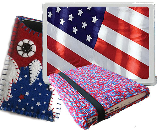 Red, White, and Blue Gadget Accessories
