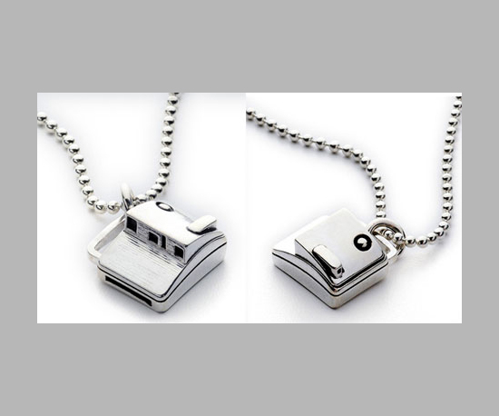 Polaroid Charm Necklace