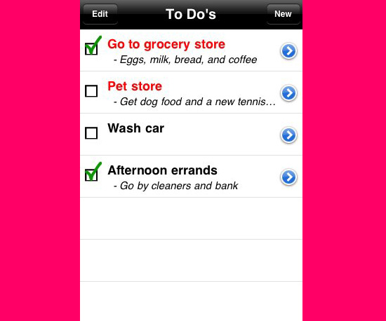 Keep Your Basic List Ordered With the To Do's App