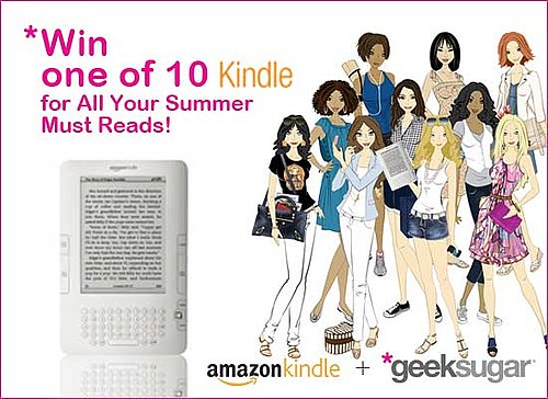 Guess the Sugar Girls' Summer Reading Picks to Win a Kindle!