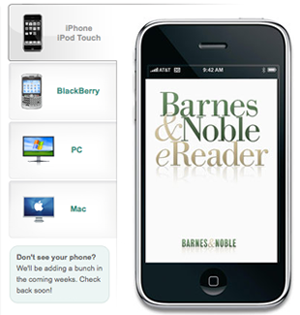 Barnes and Noble Announces New eReader and eBooks Store