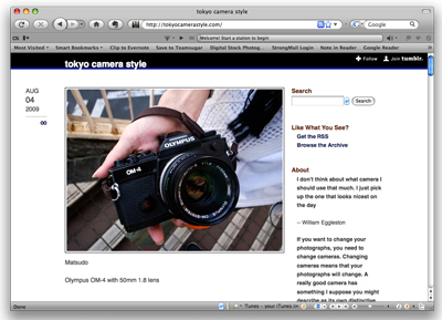 Website Tokyo Camera Style Shows Beautiful Photos of Cameras