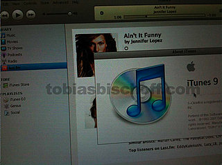 iTunes 9 Screenshots Show Twitter and Facebook Integration