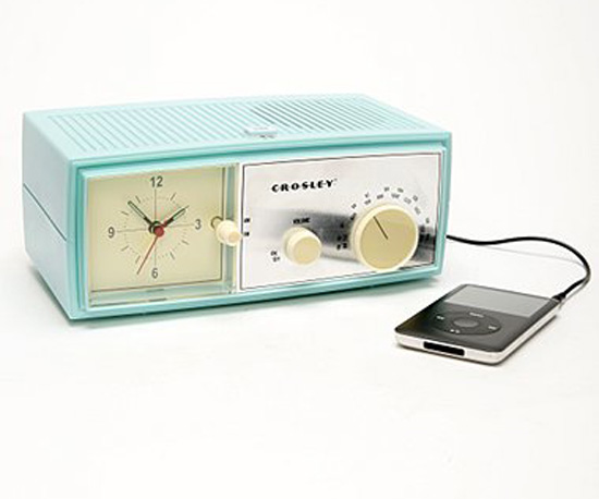Crosley Table Alarm Clock ($60)