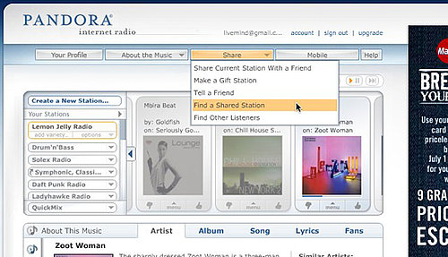Daily Tech: Find New Music Using Pandora