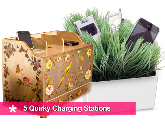 Questionable Docking: 5 Quirky Charging Stations
