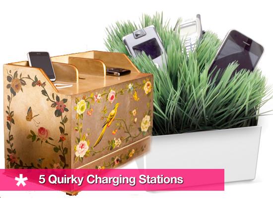 Strange Looking Charging Stations