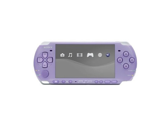 The PSP 3000 In Lilac, Turquoise and Pink