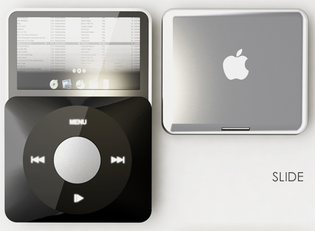 Photos of the Concept iPod Slide