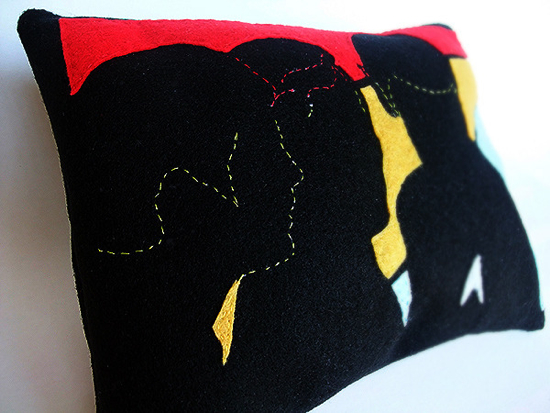 Glow In the Dark Star Trek Pillows