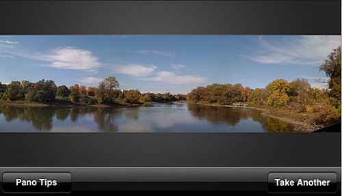 Take Great Panoramic Shots on Your iPhone By Using the Pano App