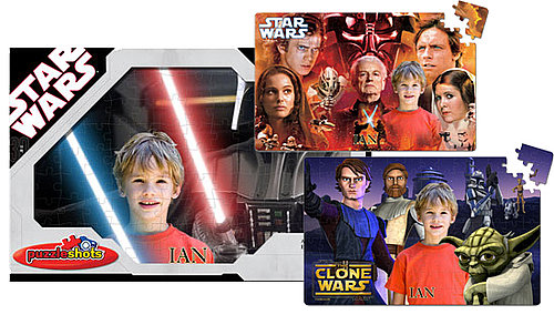 Put Your Self Portrait In a Star Wars Puzzle