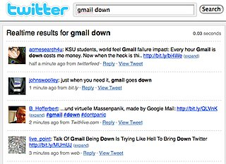 Gmail Users Get Upset About Outage