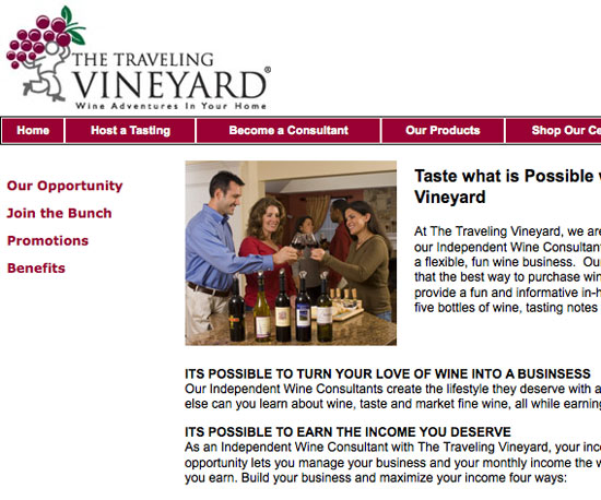 The Traveling Vineyard