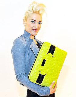 Gwen Stefani Shows Off New L.A.M.B. Line and Laptop Sleeve at NYC's Fashion's Night Out on 9/10/09