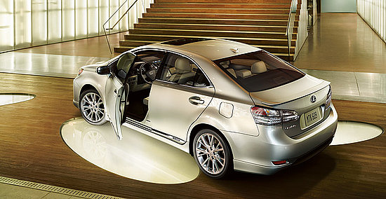 Photos of the Lexus HS Hybrid Sedan