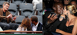 Eva Longoria and Tony Parker Get Cozy at the French Open and Heidi and Seal Kissing at the Emmys