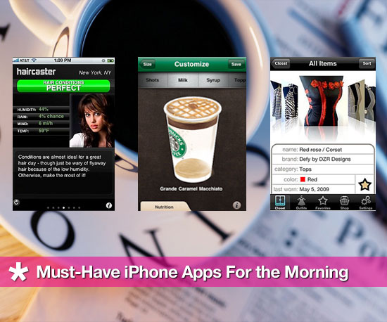 Must-Have iPhone Apps For the Morning