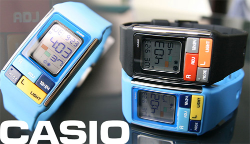 Daily Tech: Casio Debuts Some Geeky Cubic Puzzle Watches