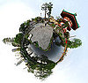 Turn Your Digital Photos Into Little Planets With the Polar Panorama Effect
